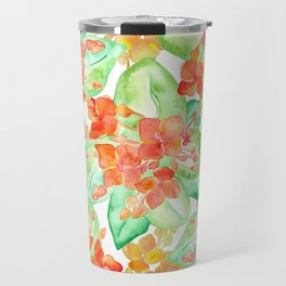 Succulent flowers Travel Mug