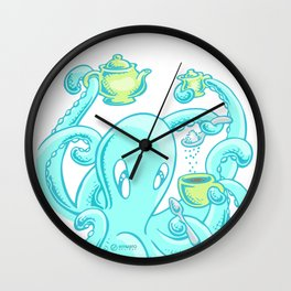 Squiggles: The perfect coffee Wall Clock