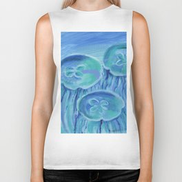Striated Jelly Moons Biker Tank