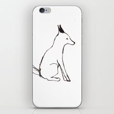 A Fox in The Park iPhone & iPod Skin