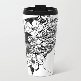 "PHOENIX AND THE FLOWER GIRL ""REFLECTION"" PLAIN PRINT Metal Travel Mug"