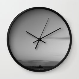 Standing here Wall Clock