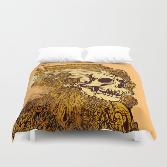 SKULLION Duvet Cover