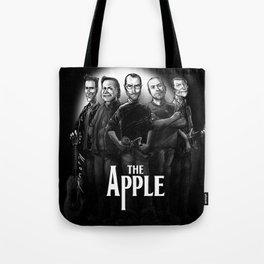 The Apple Band Tote Bag