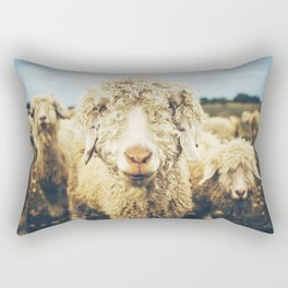 Curly I Rectangular Pillow