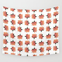 Rose Pattern No.1 Wall Tapestry