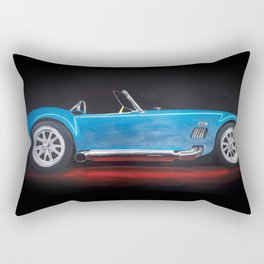 Shelby Cobra painting Rectangular Pillow