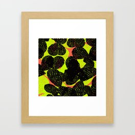 illuminous cactus Framed Art Print