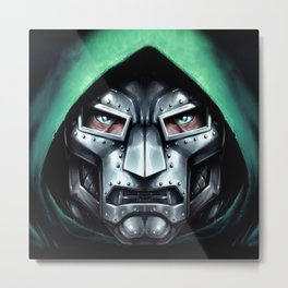 Doctor Doom Metal Print
