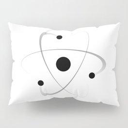 Atomic Mass Structure Pillow Sham
