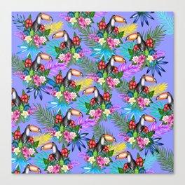 Tucano pattern Canvas Print
