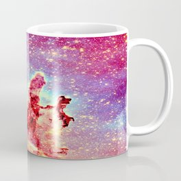 GALAXY : The Pillars of Creation Nebula Vibrant Warmth Coffee Mug