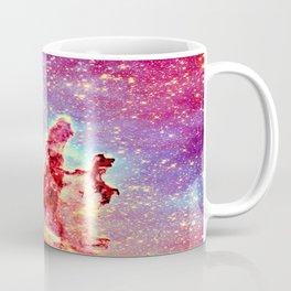 GALAXY : The Pillars of Creation Nebula Vibrant Warmth Coffee Mug