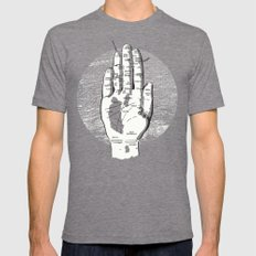 A Handy Map of San Francisco SMALL Mens Fitted Tee Tri-Grey
