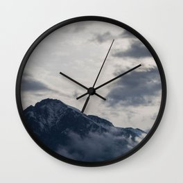 paradise over the mountain 2 Wall Clock