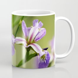 Wild Iris Flower Coffee Mug