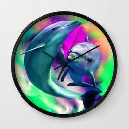 Joyful Hearts Wall Clock
