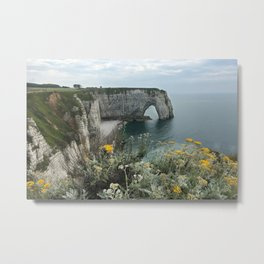 Etretat, France - Coast Metal Print