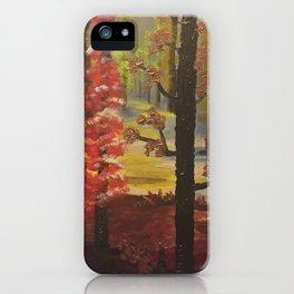 Love of Autumn iPhone Case