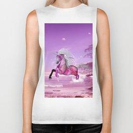 Wonderful unicorn Biker Tank