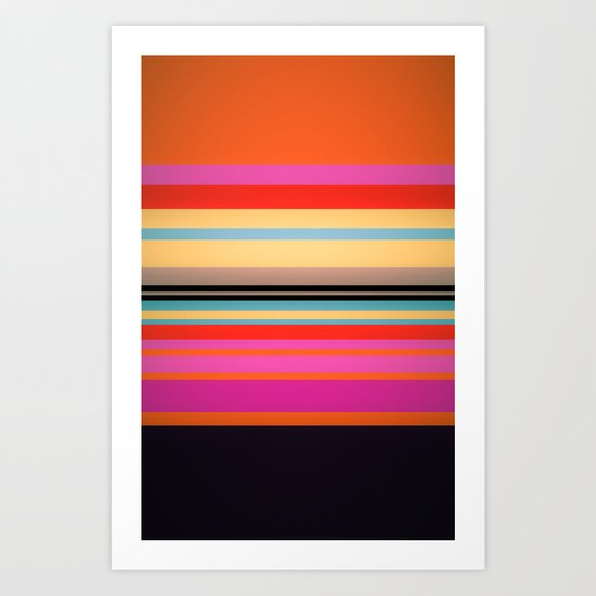 Sunset Stripes by ayamaries