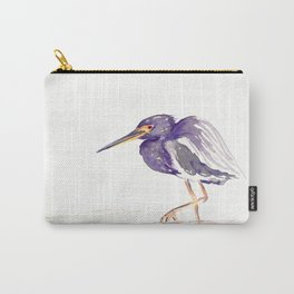 Tricoloured Heron Carry-All Pouch