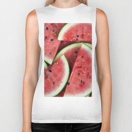 Juicy Watermelon Biker Tank