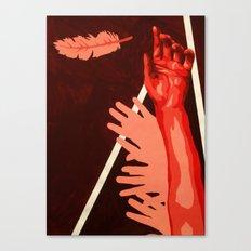 Icarus Before Flight Canvas Print