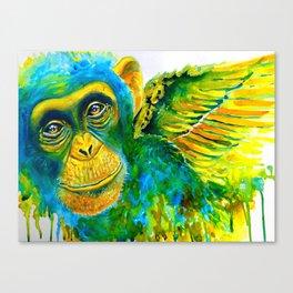 Fly My Pretty Canvas Print