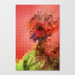 Destructuring Canvas Print