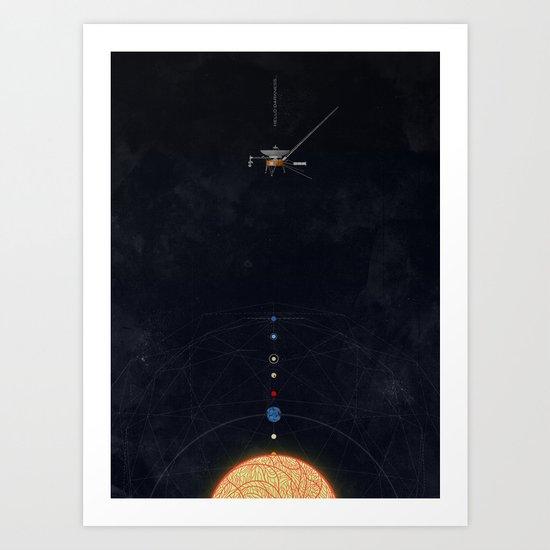 August 25, 2012 Art Print