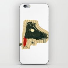 The seven little goats iPhone & iPod Skin