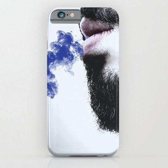 Sir blue smoke iPhone & iPod Case