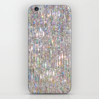 hologram iPhone & iPod Skins featuring To Love Beauty Is To See Light (Crystal Prism Abstract) by soaring anchor designs