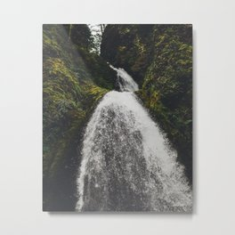 The Waterfall 1 Metal Print