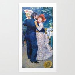 Auguste Renoir - Country Dance Art Print