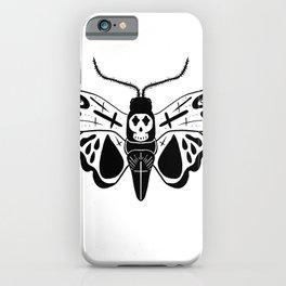 Cross moth iPhone Case