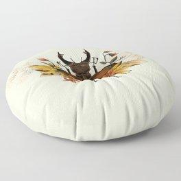 Blooming Beetle Floor Pillow