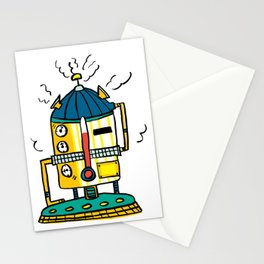 Overheating Stationery Cards