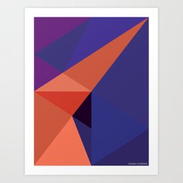 Construct Art Print