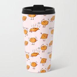 Waffles! Metal Travel Mug