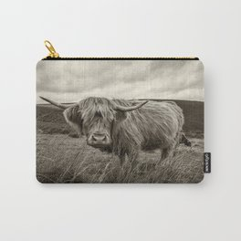 Moo Hair Carry-All Pouch