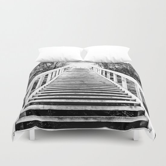 Only Way is Up  Duvet Cover