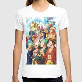 Straw Hats - One piece T-shirt