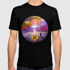 The Day of the Jellies MEDIUM Mens Fitted Tee Black