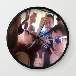 The Diamond in the Rough Wall Clock