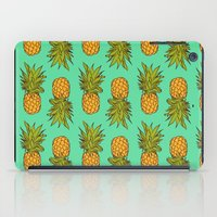 pineapples iPad Cases featuring Pineapples by Stephanie Keir