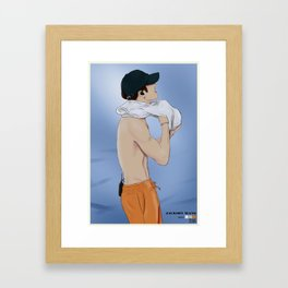 jackson wang Framed Art Print
