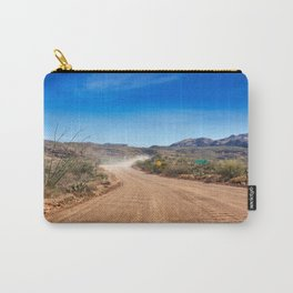 Apache Trail dirt road Carry-All Pouch