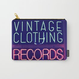 Vintage Clothing Records Carry-All Pouch